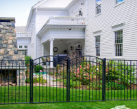Eastern-Ornamental-Fence-with-Accent-Drive-Gates-EO54202-BK